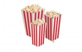 Popcornbecher 4-eckig