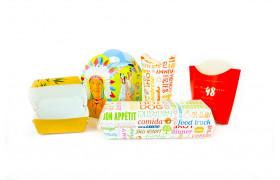 Offene Food Verpackung