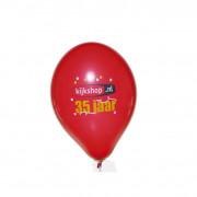 Werbeballon, 33 cm Ø, 1-seitig bedruckt